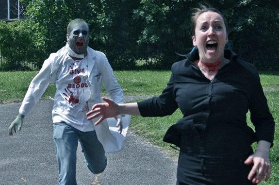 The Zombie theme